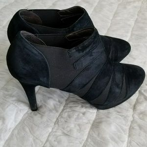 A. Marinelli Shoes - A. Marinelli Black Heeled Booties Sz 9.5