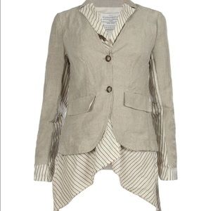 All Saints Jackets & Blazers - All Saints Stripe Ersa Jacket