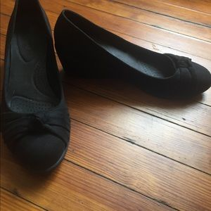 Comfy Wedges by Dexflex in Black Size 11