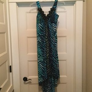 Valerie Bertinelli High-Low Sundress. Size 6