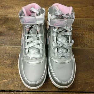 Nike Other - Nike Vandal Hi Sneakers Silver Snowflake Sneakers