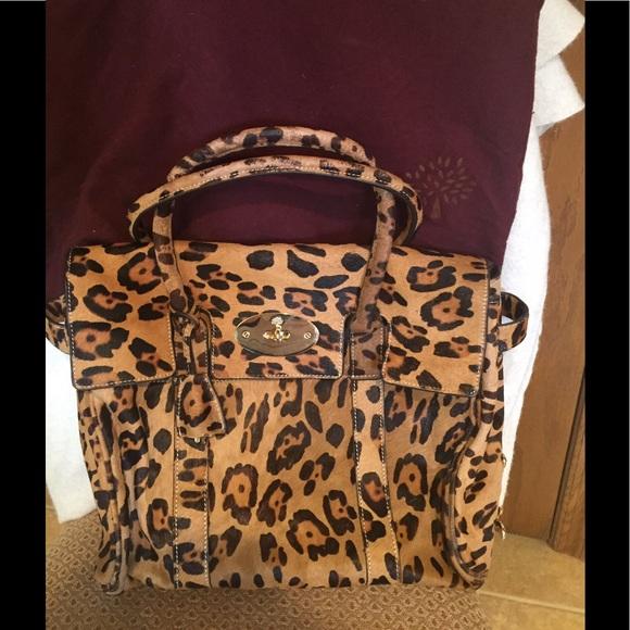 Mulberry  Calf hair handbag. M 59136f4213302a6f1d012b5c e5bbb0ae2d927