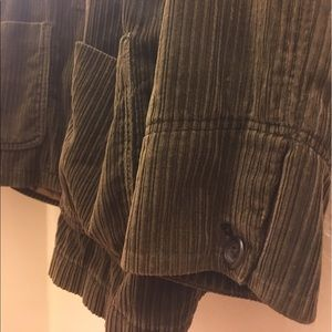 Corduroy jacket with tons of pockets