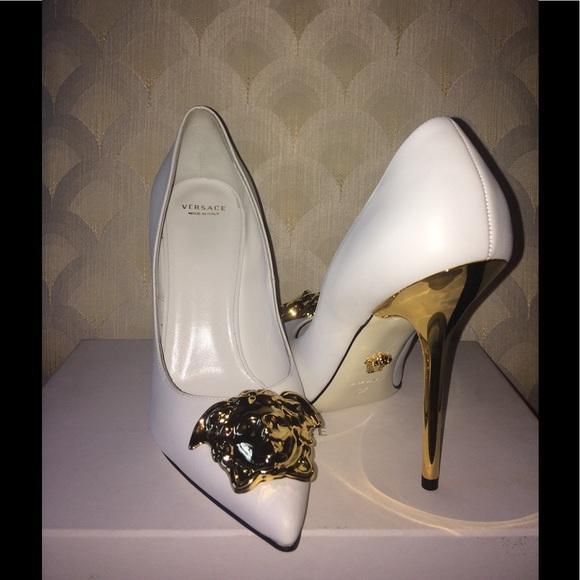 2765dbdf7c Versace Shoes   Brand New Palazzo White   Poshmark