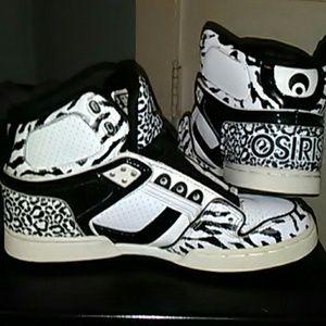 Osiris Shoes - LIKE NEW OSIRIS LEOPARD PRINT SHOES