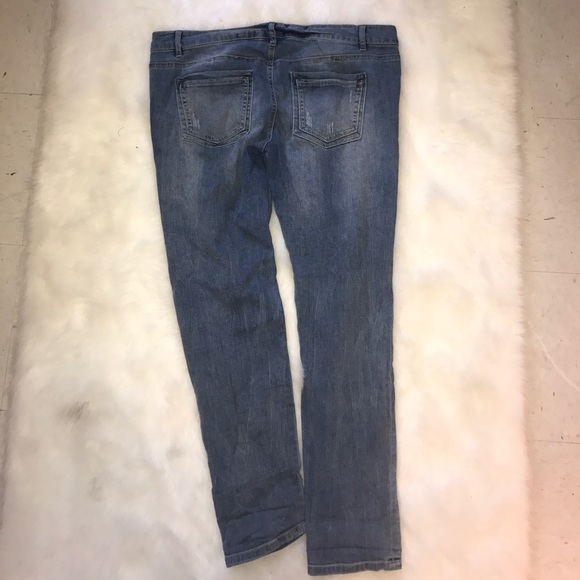GB Jeans - GB Light Denim Skinny Jeans
