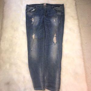 GB Denim - GB Light Denim Skinny Jeans