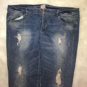 GB Jeans - GB Light Denim Skinny Jeans