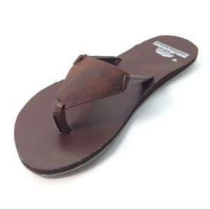 HBCali Shoes - New Just Arrived brown leather sandal with arch🎉