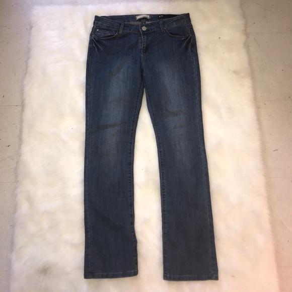 Kardashian Kollection Denim - Kardashian Kollection Wide Leg Jeans