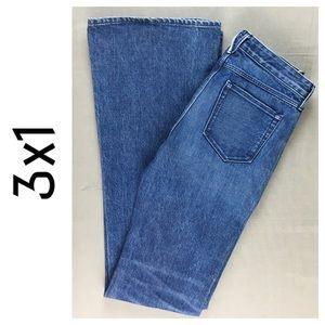 3x1 Denim - ⭐️NWT 3x1 Mid Rise Bell Bottom Juliet Jean 25