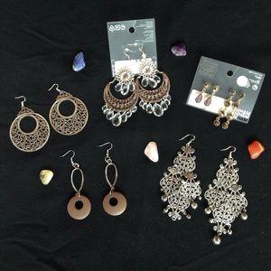 H&M Jewelry - Statement Earring Bundle