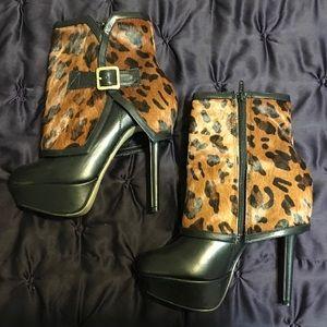 Bakers leopard bootie