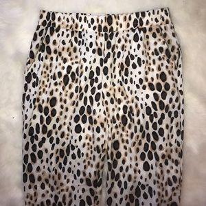 bebe Pants - Bebe Leopard Print Pants