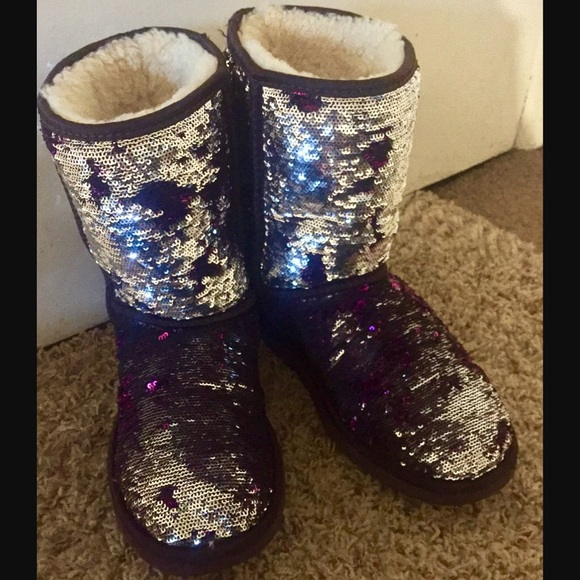 2b761c9d744 Purple And Silver Sequin Uggs - cheap watches mgc-gas.com