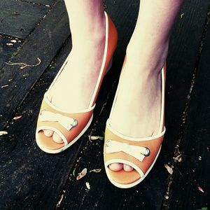 Adorable Tangerine Wedges by Life Stride