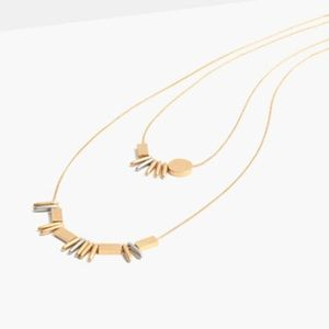 Madewell Baton Layering Necklace, NWT