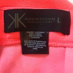 Kardashian Kollection Skirts - Kardashian Kollection Neon Pink Mini Skirt