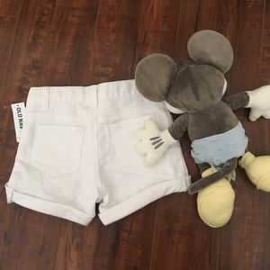 🎈Old Navy White Short Jeans🎈