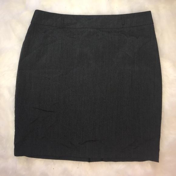 Soho Apparel Skirts - Soho Apparel Gray Midi Skirt