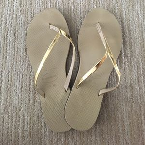 Havaianas Shoes - Lightly worn havaianas