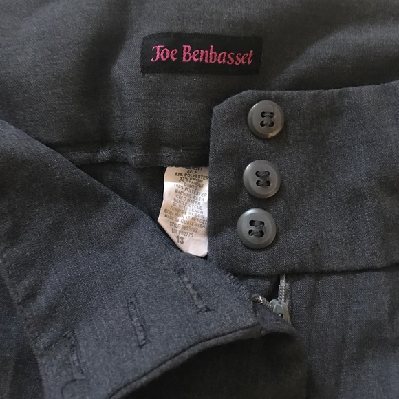 J. Benbasset Pants - J. Benbasset Gray Dress Pants