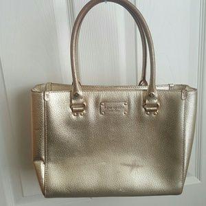 Kate Spade Metallic Gold Wellesley Quinn