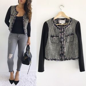 BCBGeneration Jackets & Blazers - BCBGeneration Tweed Spring Blazer