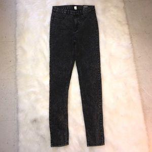 Divided Denim - Divided High Waist Skinny Jeans