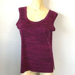 Misook Tops - Exclusively Misook Knit Sleeveless Too