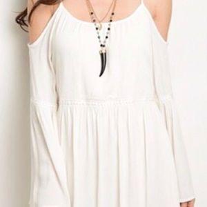Sage Dresses & Skirts - NWT Sage Cold Shoulder Dress Size S
