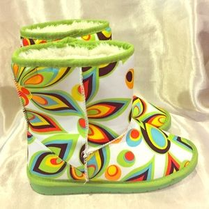 Dawgs Other - Dawgs Multi Color great Kids boots size 1/2