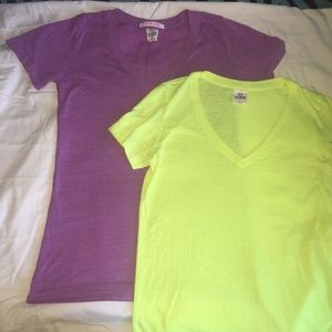 PINK Victoria's Secret Tops - PINK VICTORIA'S SECRET: 2 Shirt Bundle