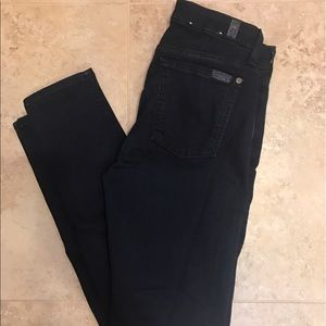 7 for All Mankind Mid Rise Skinny Jeans (NWOT)