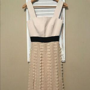 ee159db7a1bc Self-Portrait Dresses | Self Portrait All Lace Trim Maxi Dress ...