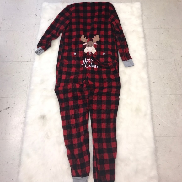 Faded Glory Intimates & Sleepwear - Red Plaid Christmas Onesie