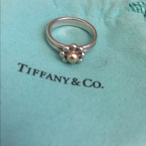 d2b6ed0a5ffda Tiffany & Co. Silver&18K Gold Picasso Jolie Ring