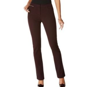 Rafaella sportswear vintage wine plum dress pants
