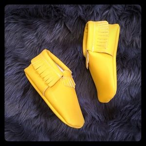 sweet n swag  Other - SWEET N SWAG yellow moccasins