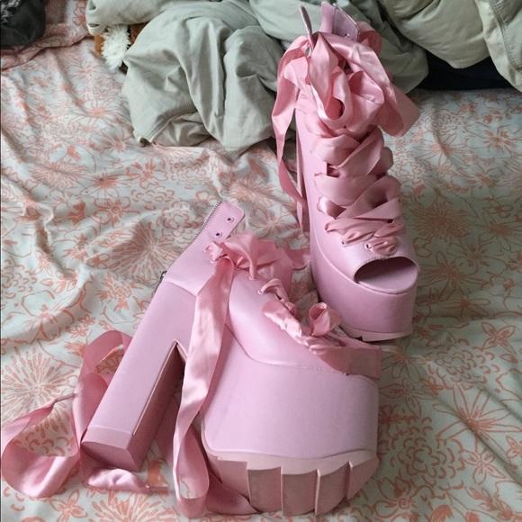 43877fffe8a yru x dolls kill ballet bae platforms