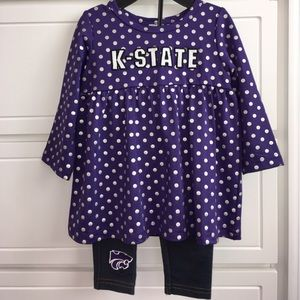 Colosseum Other - 🆕NWOT Kansas State Set💕