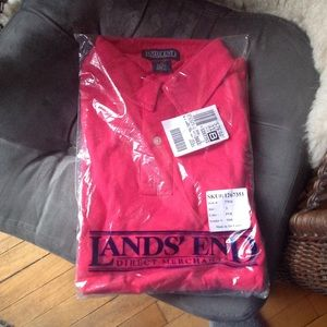 Lands' End men's polo
