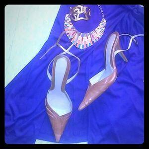 Zara Shoes - ZARA Ankle strap pumps