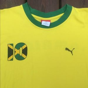 a14221f32f4 Puma Shirts - Men s Large Puma Jamaica shirt size Large
