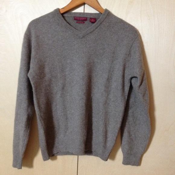 American Blue - American Blue Size M 100% Yak Wool Gray Sweater ...