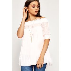 Babydoll Off The Shoulder Top *NEW*