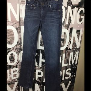 A/X Armani Exchange Denim - Armani Exchange boot cut dark wash jeans