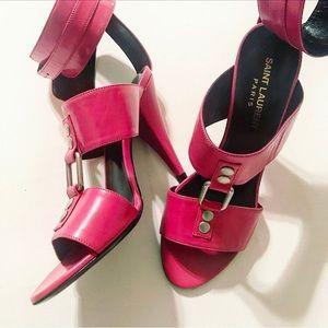 Saint Laurent Shoes - Yves Saint Laurent Fetish Sandals