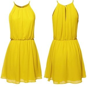 DNA Couture Dresses & Skirts - DNA Couture yellow dress