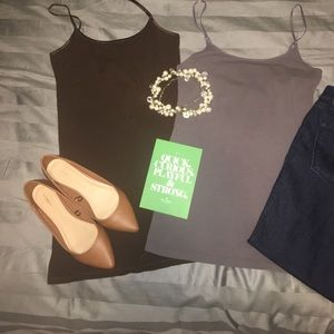 Zenana Outfitters Tops - Set of 2 tank tops // size Large